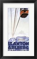 Framed Austria Ski
