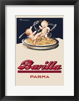 Framed Barilla Parma