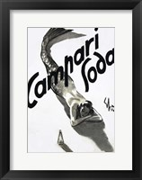 Framed Mermaid Campari 1936