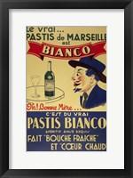 Framed Pastis Bianco