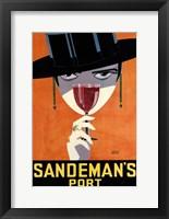 Framed Sandemans