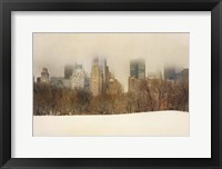 Framed Foggy Central Park