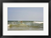 Framed Ocean Play