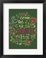Framed Adore Him