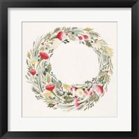 Framed Joy Wreath