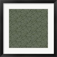 Framed Holly Pattern 1
