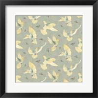 Framed Bird Pattern 1