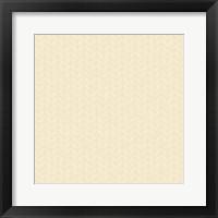 Framed Cream Pattern