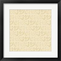 Framed Joy Pattern