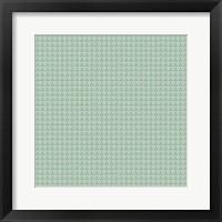 Framed Pink & Green Pattern