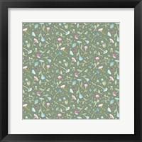 Framed Floral Pattern 3