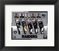 Framed Oakland Raiders 2017 Team Composite