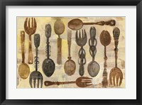 Framed Spoons and Forks