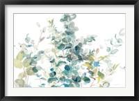 Framed Eucalyptus I White Crop