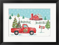 Framed Christmas in the Country I