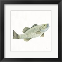 Framed Gone Fishin Small Mouth