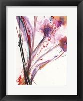 Framed Floral Explosion III