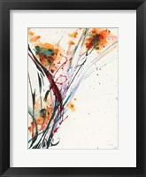 Framed Floral Explosion II
