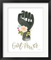 Girl Power XI Framed Print