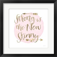 Girl Power I Framed Print