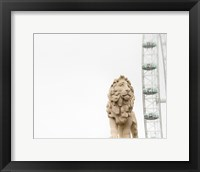 Framed Lion of London