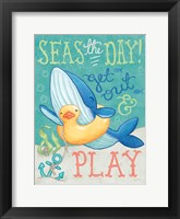 Ocean Friends V Framed Print