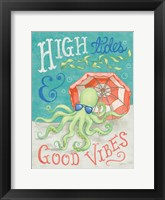 Ocean Friends IV Framed Print