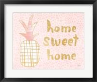 Framed Pineapple Blush I
