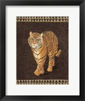 Framed Grand Tiger Traveller