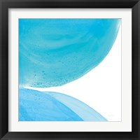 Framed Pools of Turquoise II