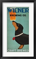 Framed Wiener Brewing Co