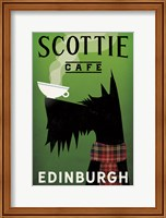 Framed Scottie Cafe