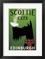 Framed Scottie Cafe