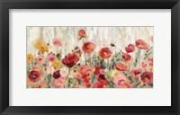 Framed Sprinkled Flowers