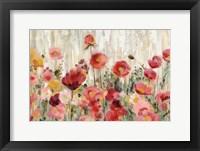 Framed Sprinkled Flowers Crop