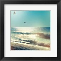 Framed Coastline Waves no Word