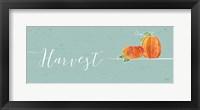 Underlined Fall I Color Framed Print