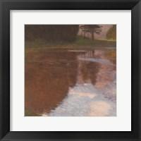 Framed Tranquil Pond