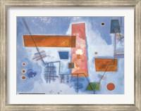 Framed J Contard