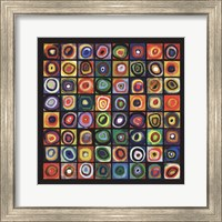 Framed Color of Squares