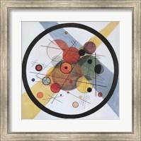 Framed Circles in Circle