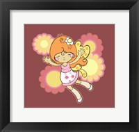 Framed Flying Fairy