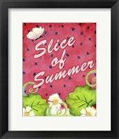 Framed Slice of Summer