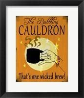 Framed Bubbling Cauldron