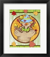 Framed Turkey Scarecrow