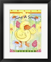 Framed Sing Your Own Song