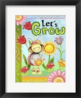 Framed Lets Grow