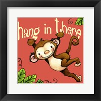 Framed Hang In Monkey
