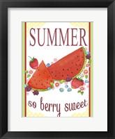 Framed Berry Sweet