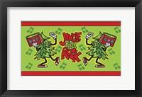 Framed Christmas Jungle Bell Rock